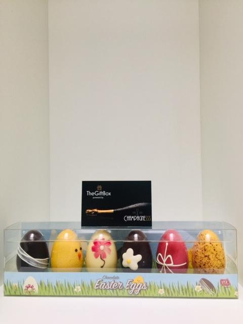 Afbeelding PASEN Chocolade eieren deco